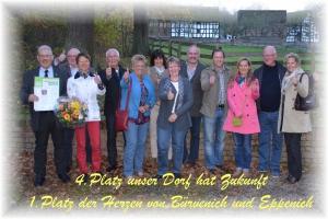 """4. Platz """"Unser Dorf hat Zukunft""""2014"""