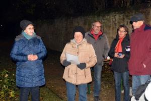 Adventkalender Eröffnung Frauengemeinschaft 01.12.2017