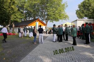 Einweihung Schützenhaus 10.06.2018
